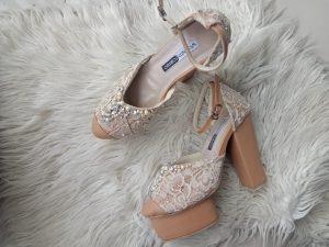 Sepatu Pengantin hak 12cm