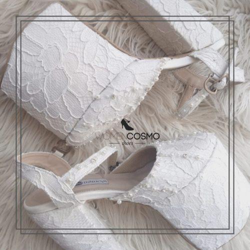 sepatu wedding 17cm